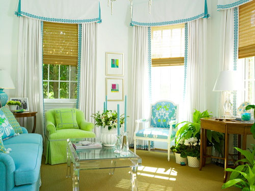 green blue living room kate byer interior design