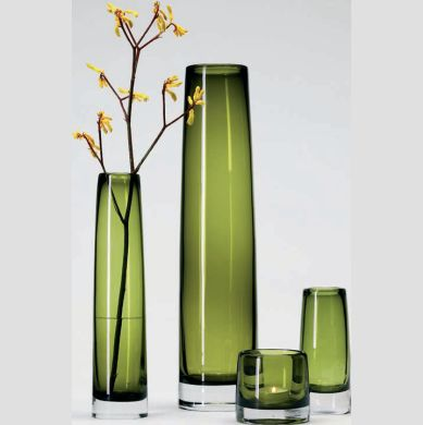 Green Vases Kate Byer Interior Design