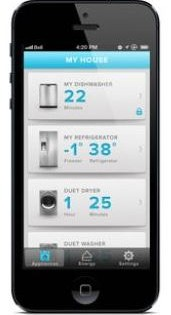 Whirlpool energy monitoring phone app