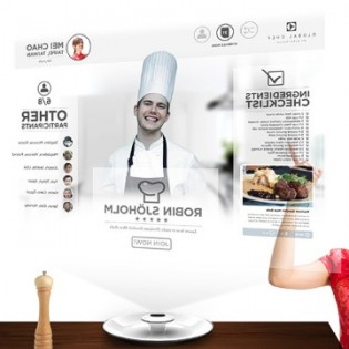 Global Chef hologram technology