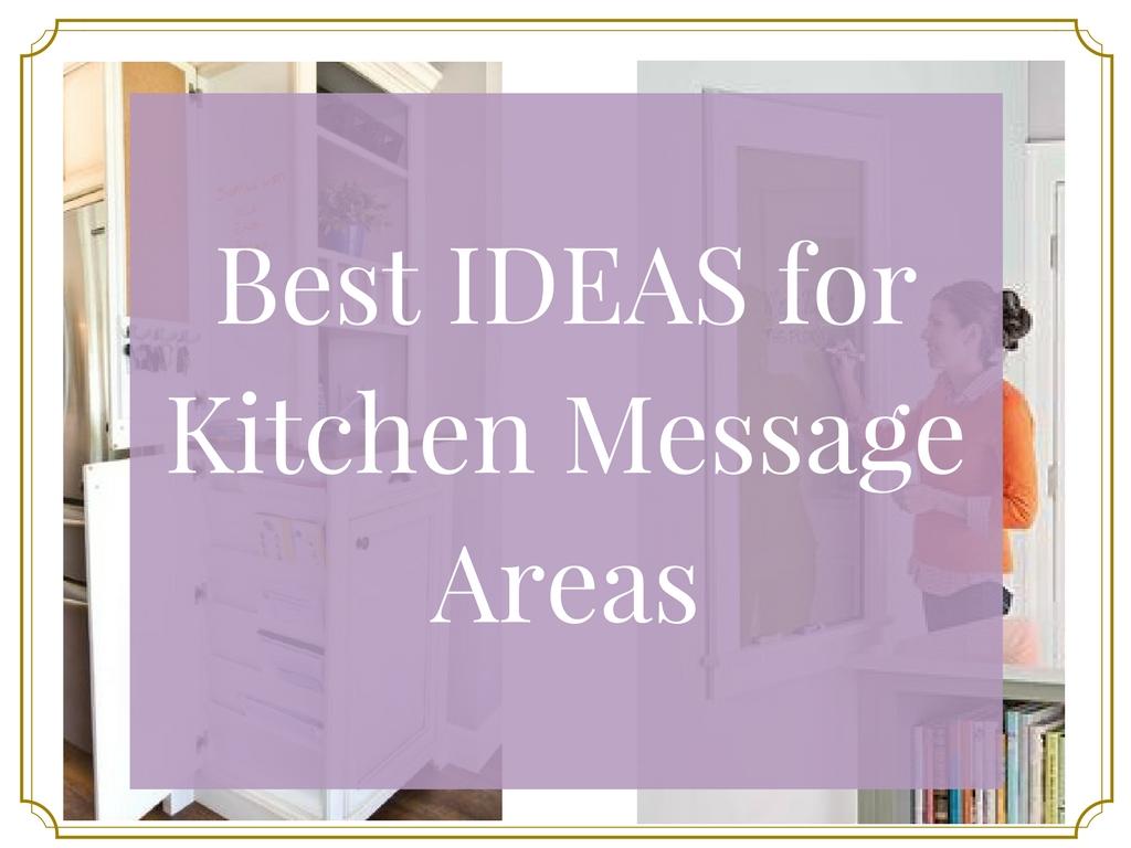 Kitchen Message Boards